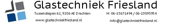 Banner Glastechniek Friesland